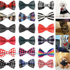 50 Color Dog Cat Pet Adorable Novelty Grooming Bow Tie Necktie Collars Clothes !