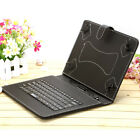 """iRulu Multi-Color 10"""" PU Leather Stand Case Cover Micro USB Keyboard for Tablet"""