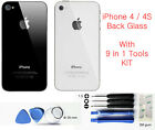 Genuine Replacement Back Glass for Apple iPhone 4G 4S Rear Cover Case Housing