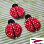 "(U Pick) Wholesale 50-500 Pcs. 1-1/4"" Padded Felt Lady Bug Appliques BU001"