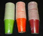 Tableware - 9oz Paper Cups - Choose your color