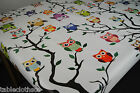 OWLS RECTANGULAR VINYL PVC OILCLOTH WIPE CLEAN TABLECLOTH CO click for sizes