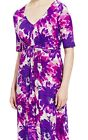 NEW MARKS AND SPENCER CLASSIC GIANT CARNATION  PRINT MAXI DRESS DRESS £ 45.00