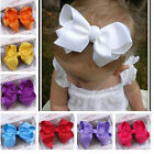 """1PC baby 4.3"""" Boutique Hair Bows Alligator hair Clip FOR Headbands Hair band New"""