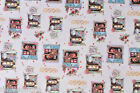 SHABBY CHIC SHELF VINYL OILCLOTH  PVC WIPE CLEAN TABLE CLOTH CO click for sizes