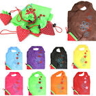Fashion Strawberry Foldable Reusable Recycle Carrier tote bag Shopping Bags Gift