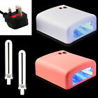 New 36W UV Lamp Light Gel Curing Timer Nail Dryer with 4 x 9W Blubs