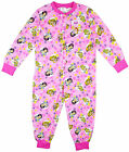 Girls Official Disney Princesses All inOne Sleepsuit Onesie Pink 12mths-5yrs NEW