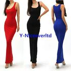 Casual Summer Women Wiggle Evening Wedding Party Prom Maxi Long Beach Dress Y801