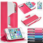 Flip Wallet Leather Case Cover For Apple iPhone 6 4 4S 5S FREE Screen Protector