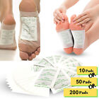 Lot Premium Detox Foot Pads Organic Herbal Cleansing Slimming Patches