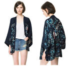 NEW Vintage Retro Womens Ethnic Phoenix Loose Style Kimono Cardigan Jacket Coat