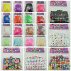 100PCS 7MM Mixed Alphabet Letter Cube Beads With FREE 200PCS DIY LOOM BANDS SET