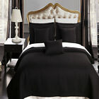 Luxury Checkered Quilted Wrinkle Free Microfiber 6-Piece Coverlets Set 9 Colors!
