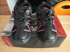 Pink and Black capezio web jazz dance sneakers/trainers