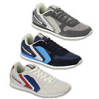Mens Trainers Crosshatch Sneakers Shoes Lace Up Suede Running Mesh Designer New