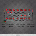 0356 Peugeot Bicycle Frame Stickers - Decals - Transfers