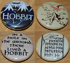 THE HOBBIT Button Badge 25mm / 1 inch JRR Tolkien Lord of the Rings