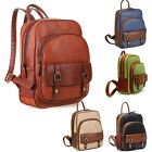 Fashion Women's PU Leather Backpack School Bookbags Travel  Shoulder LAPTOP Bag