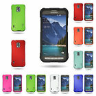 For Samsung Galaxy S5 Active - Slim Rubberized Hard Plastic Shell Cover Case