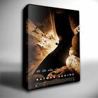 BATMAN BEGINS FILM POSTER GICLEE CANVAS WALL ART PRINT *Choose your size