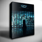 BATMAN DARK KNIGHT FILM POSTER GICLEE CANVAS WALL ART PRINT *Choose your size