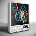 STAR WARS ORIGINAL FILM POSTER GICLEE CANVAS WALL ART PRINT *Choose your size