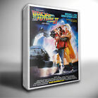 BACK TO THE FUTURE 2 FILM POSTER GICLEE CANVAS ART PRINT *Choose your size