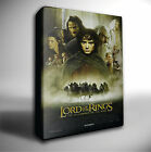 LORD OF THE RINGS FELLOWSHIP FILM POSTER GICLEE CANVAS ART *Choose your size