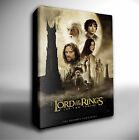LORD OF THE RINGS TWO TOWERS FILM POSTER GICLEE CANVAS ART *Choose your size
