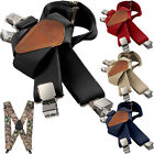 "Carhartt Utility Suspenders 2"" Adjustable Clip-on Work & Hunter Suspender Belt"