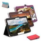 "10.1"" Leather Flip Cover Wake/Sleep Skin Stand Case For Samsung Galaxy Tab4 T530"