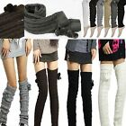 Super Vogue Soft Knit Thick Leg Warmer Long Knee High Warm Hosiery Stocking NEW