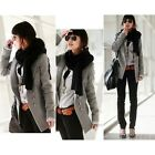 New Fashion Slim Qualities Womens Wool blends Coat/Jacket