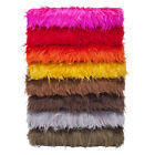 Neotrims Faux Fur Fabric, Furry Sheep Wool, Photography, Fat Squares, 15 Colours