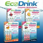 EcoDrink® Complete Multivitamin Drink Mix, 30 Packets, Blueberry Pomegranate