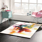 Modern & Funky, Bright Designer Artist Multi Colour Rugs 3 SIZES - Sisley Multi