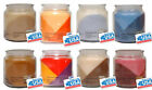 Mainstays made in USA Tripple Layered Tripple Scented Wax Candle in a Glass Jar