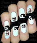30 NIGHTMARE BEFORE XMAS JACK SALLY NAIL ART DECALS STICKERS  PARTY FAVORS