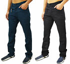 Mens Designer ETO Jeans Coloured Denim Chinos Regular Slim Fit 5 Pocket Pants