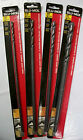 """12"""" Extended Length Blk Oxide Drill Bit Blu-Mol, You Choose Size - Lot of 5"""