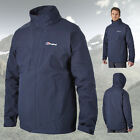 Berghaus Men's Bowfell Waterproof Goretex GTX Jacket Raincoat - Blue - New