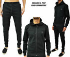 Mens Foray Tracksuit Zip Hoody Hooded Jumper Designer & Jogging Bottoms Pants