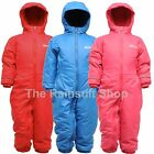 REGATTA SPLOSH II WATERPROOF PADDED FLEECE LINED ALL IN ONE SNOW SUIT RAINSUIT