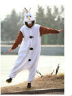 Olaf Snowman Onesie Animal Kigurumi Pajama Sleepwear Hoodies Fancy Dress Costume