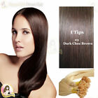 "17"" DIY kit Indian Remy Human Hair I tips/micro beads  Extensions  AAA GRADE #2"