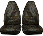 1997-2001 Jeep Cherokee Camouflage Seat Covers 5 Color Options