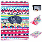Stylish Flower PU Leather Case Cover For Samsung Galaxy Tab 4 10.1 SM-T530 T531