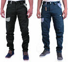 MENS DESIGNER ETO JEANS TAPERED FIT TRENDY CHINOS TWISTED LEG SALE RRP £44.99