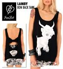 IRON FIST LAMBY BOW BACK LADIES TANK TOP (B6B)